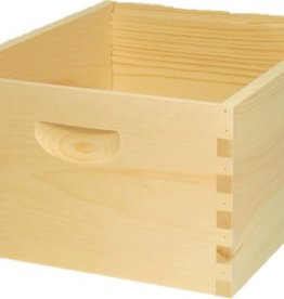*10-Frame Deep Hive Body, Assembled