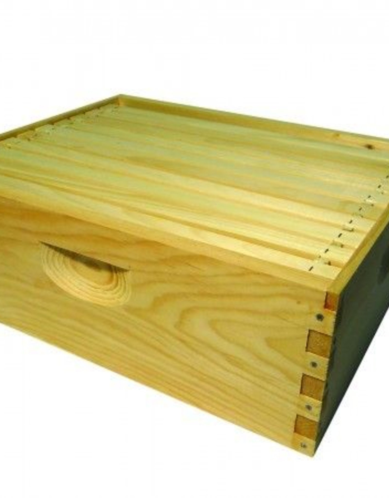 Honey & the Hive *10-Frame Shallow Super, Assembled w/ Frames & wax