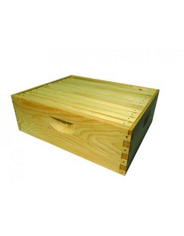 Honey & the Hive *10-Frame Medium Super w/ Frames and Wax, Assembled