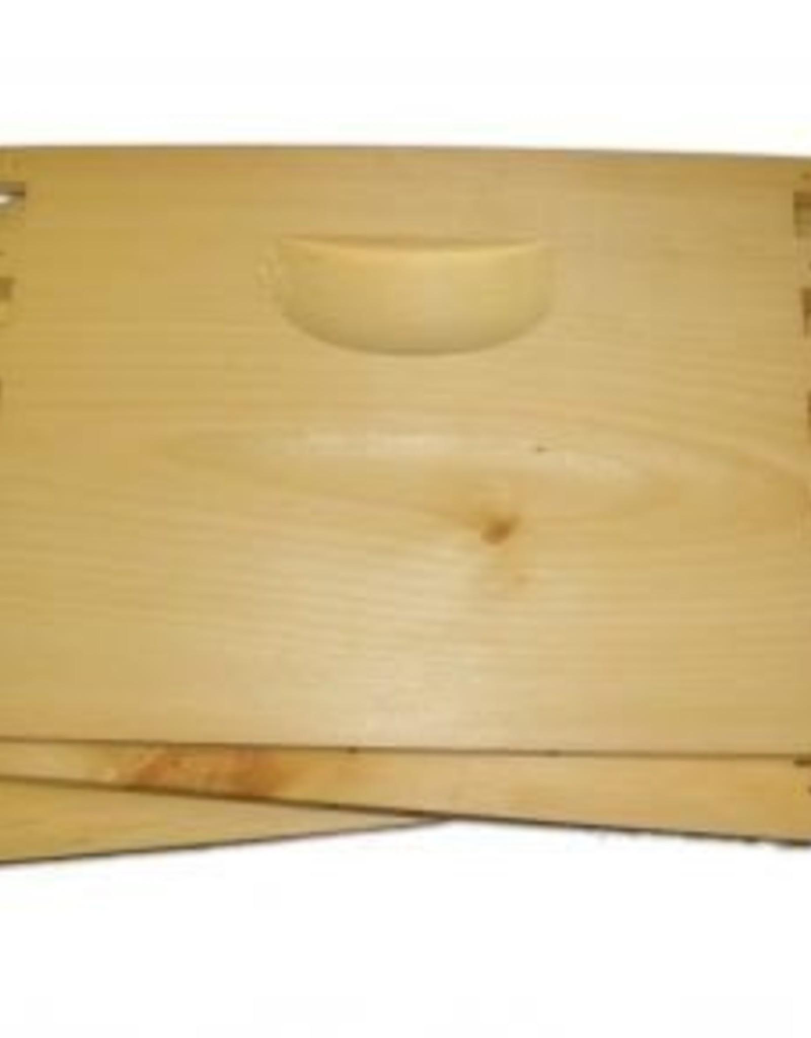 8-Frame Deep Hive Body, Unassembled