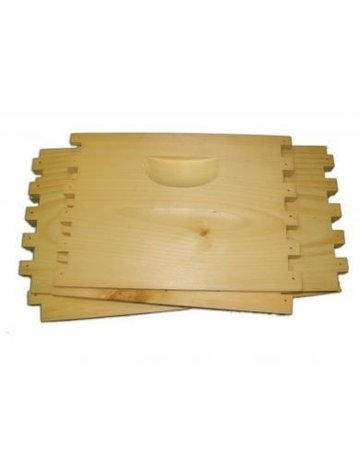 8-Frame Deep Hive Body, Unassembled