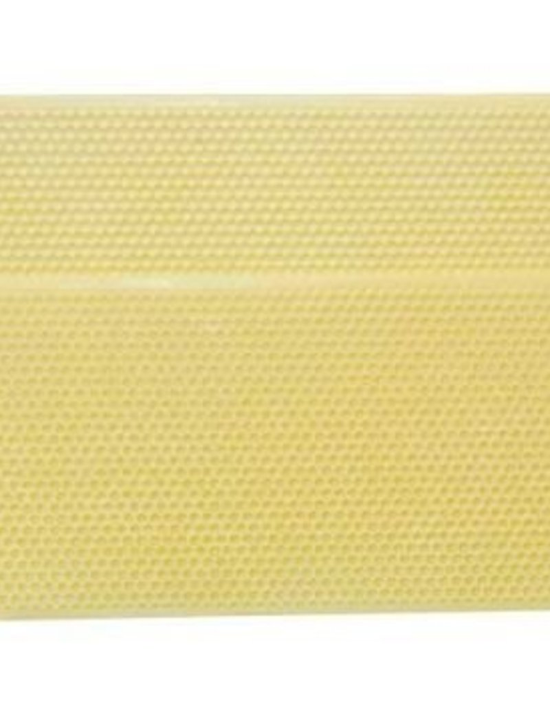 "4-3/4"" Shallow Plastic Ritecell Foundation, Yellow (box of 100)"