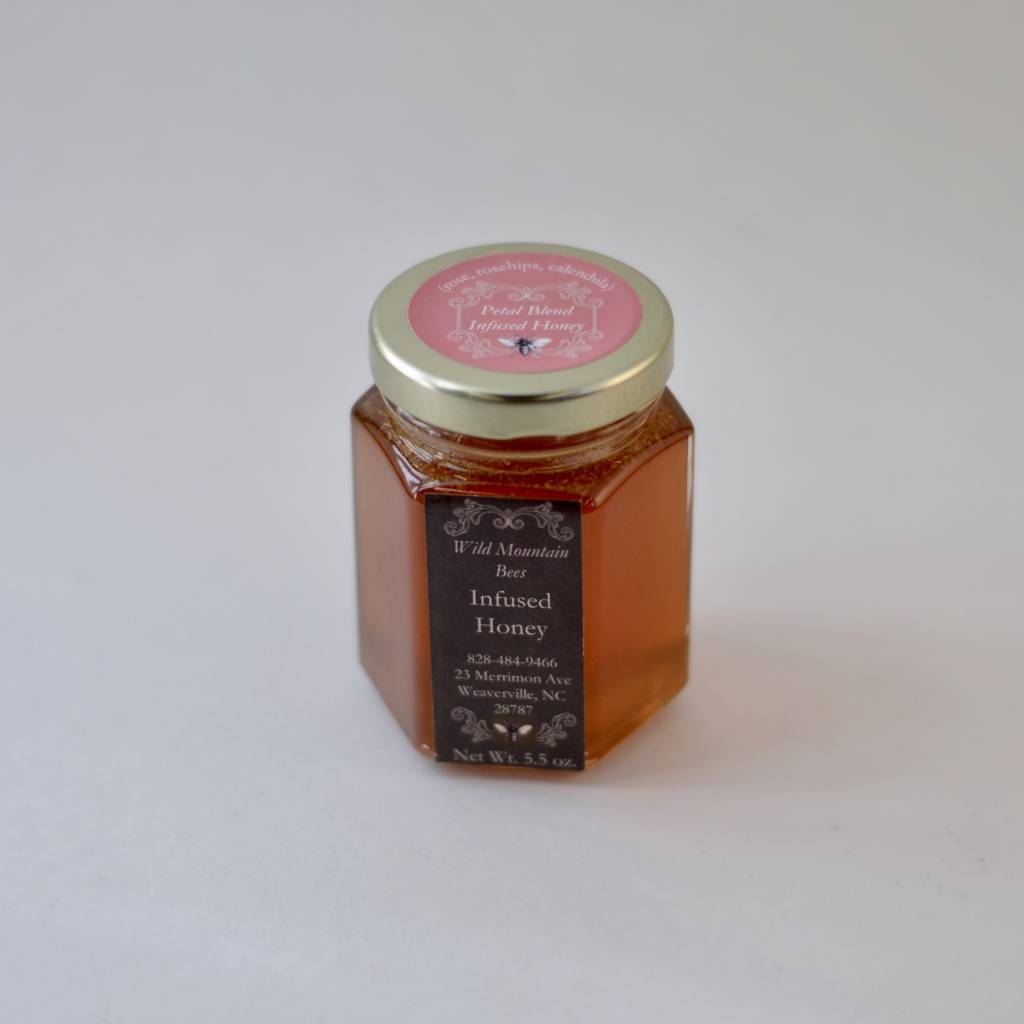 Honey & the Hive Petal Blend Infused Honey