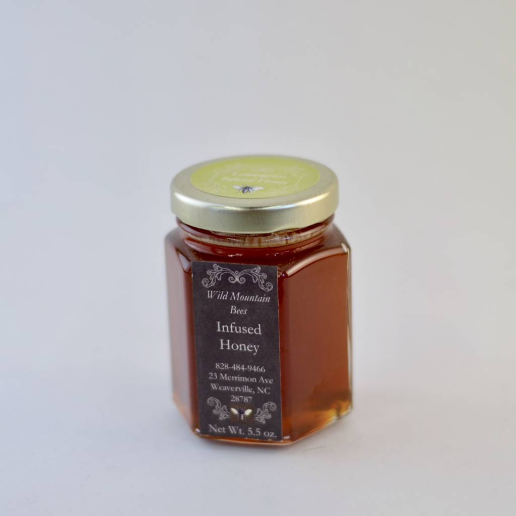 Honey & the Hive Lemongrass Infused Honey