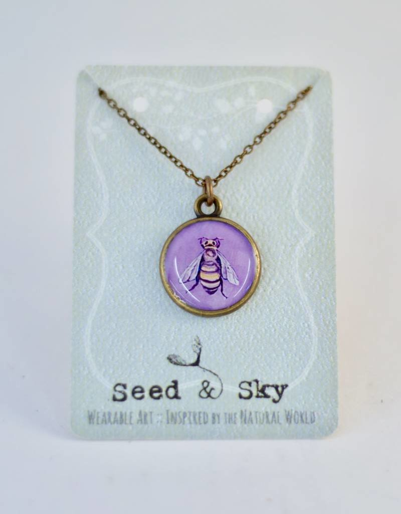 Seed & Sky Purple Bee Collection