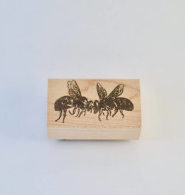 Two Bees Stamp