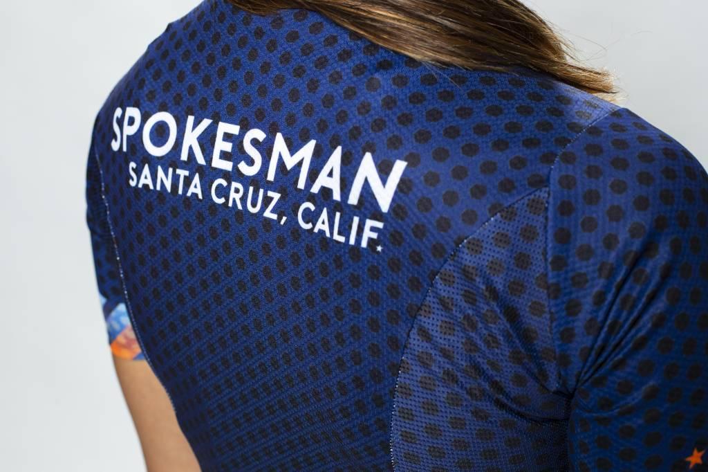Spokesman Bicycles Spokesman Dot Fade Team Jersey Women's