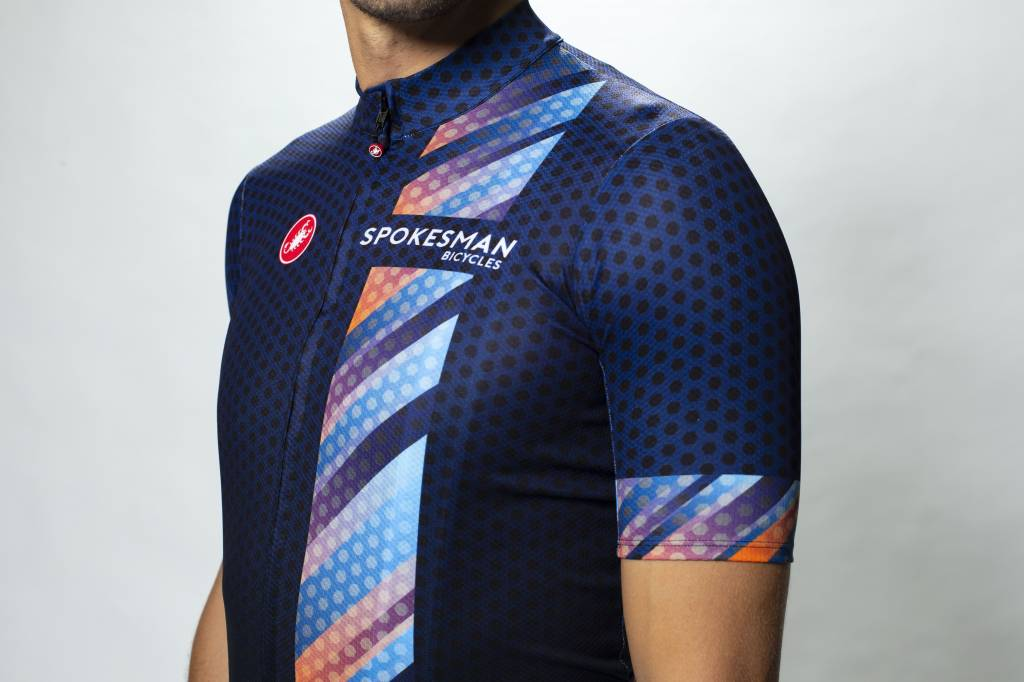 Spokesman Bicycles Spokesman Dot Fade Team Jersey