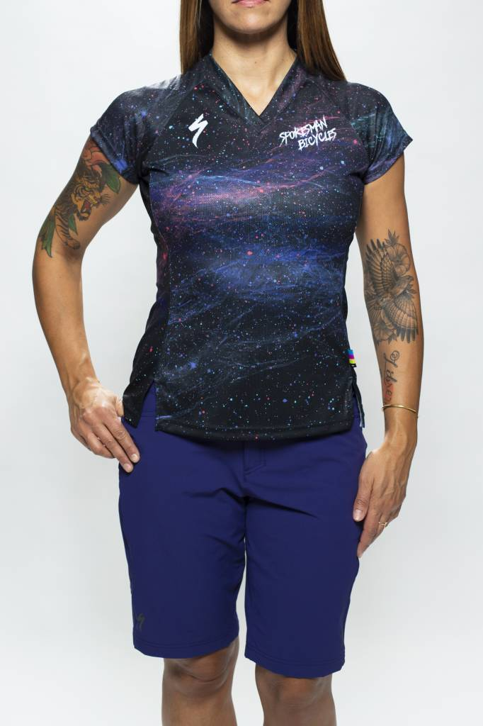 Spokesman Bicycles Spokesman Galaxy Dust Mountain Jersey Women's