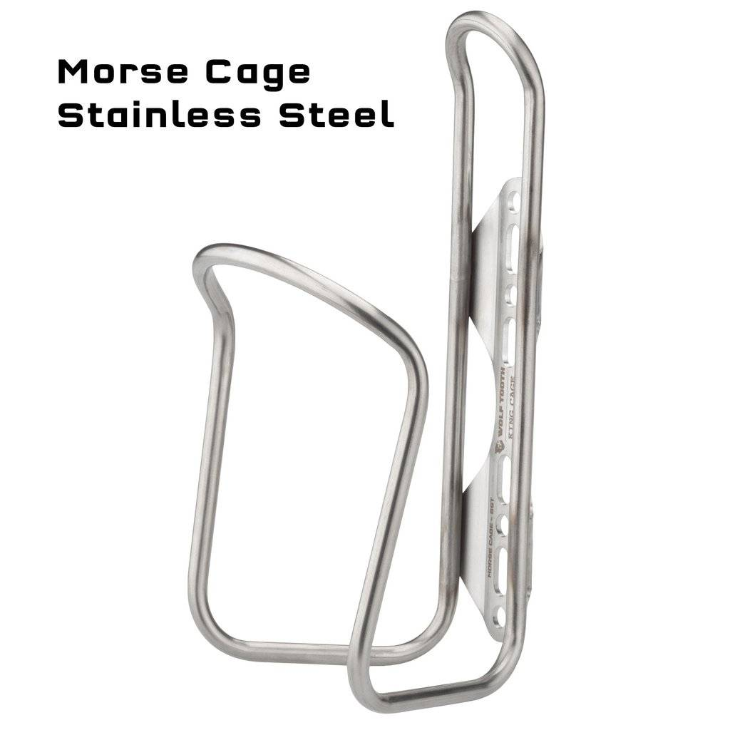 Wolf Tooth Components Wolf Tooth Morse Cage Stainless