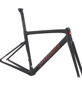 Specialized Specialized S-Works Tarmac Frameset Women's Black/Acid Purple 58