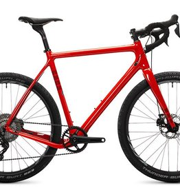 Ibis Cycles Ibis Hakka MX Coal Fireball Red 55 Ultegra Di2 D30