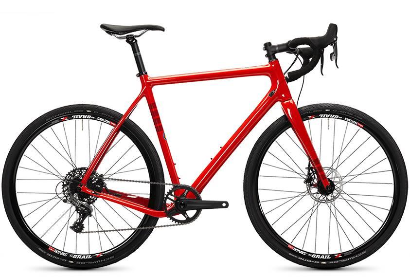 Ibis Cycles Ibis Hakka MX Fireball Red 53 Rival Grail