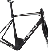 Specialized Specialized S-Works Roubaix Frameset Carbon/Metallic White Silver 61