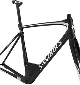 Specialized Specialized S-Works Roubaix Frameset Carbon/Metallic White Silver 61