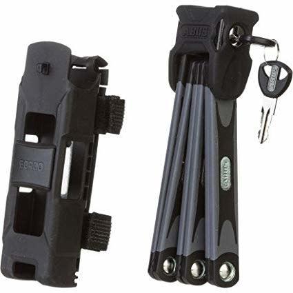 Abus ABUS Bordo 6000 Keyed Folding Lock 90cm Black