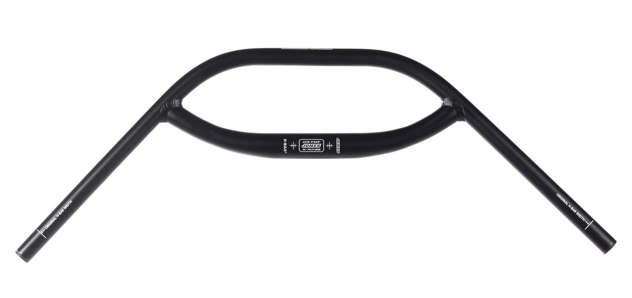 Jones SG 2.5 Rise Aluminum Loop H-Bar 710 Black