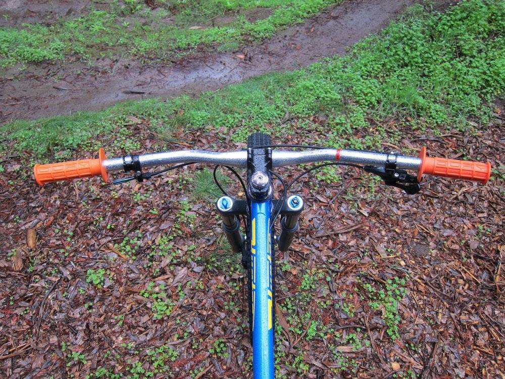 Hunter Cycles Hunter Cycles Smooth Move Flat Sweeper Silver Handlebar