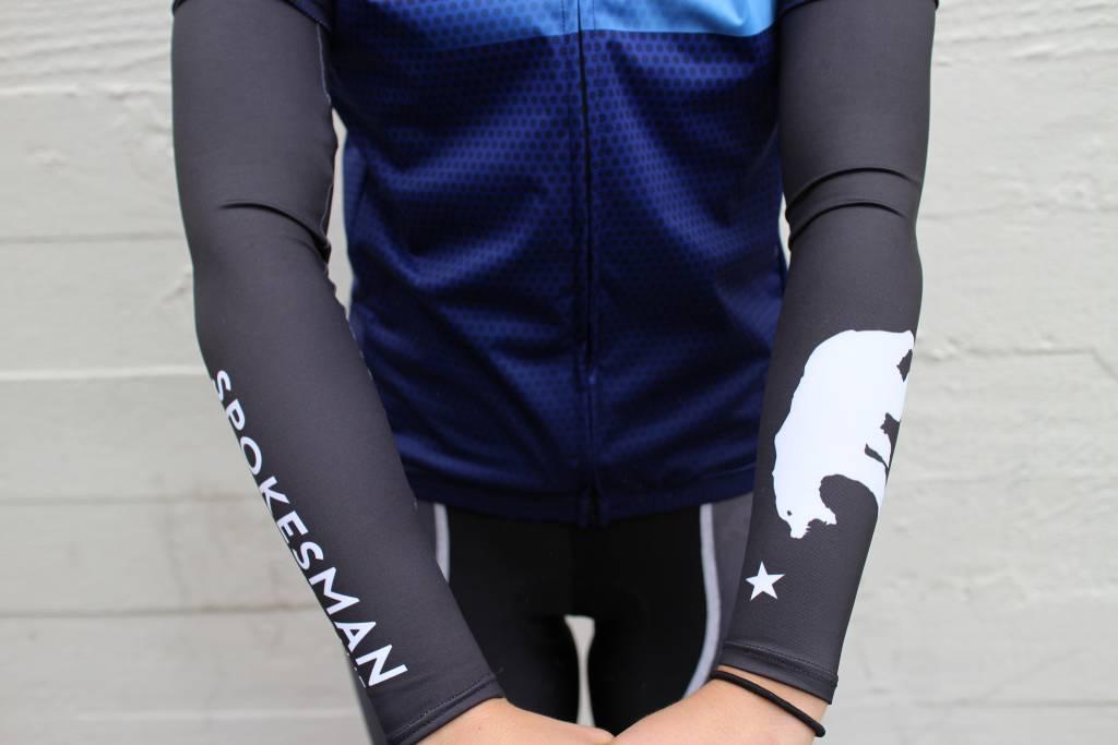 Spokesman Bicycles Spokesman Arm Warmers Black 2017