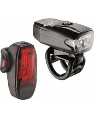 Lezyne KTV Drive Headlight and Taillight Black