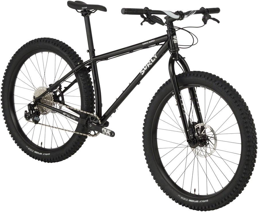 Surly Surly Karate Monkey 27.5+ Bike MD, Hi-Viz Black