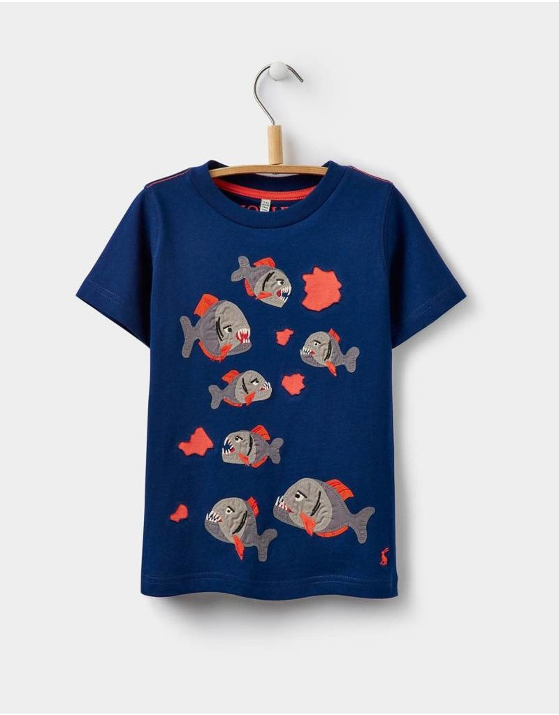 Joules Joules Applique Jersey Tee T-Shirt