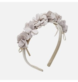 Mayoral Mayoral Stone Colored Floral Headband