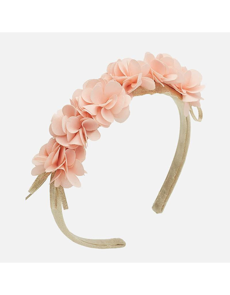 Mayoral Mayoral Nude Colored Floral Headband