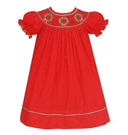 Anavini Anavini Bishop SS Wreaths Dress