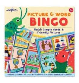 Eeboo Eeboo Picture and Word Bingo