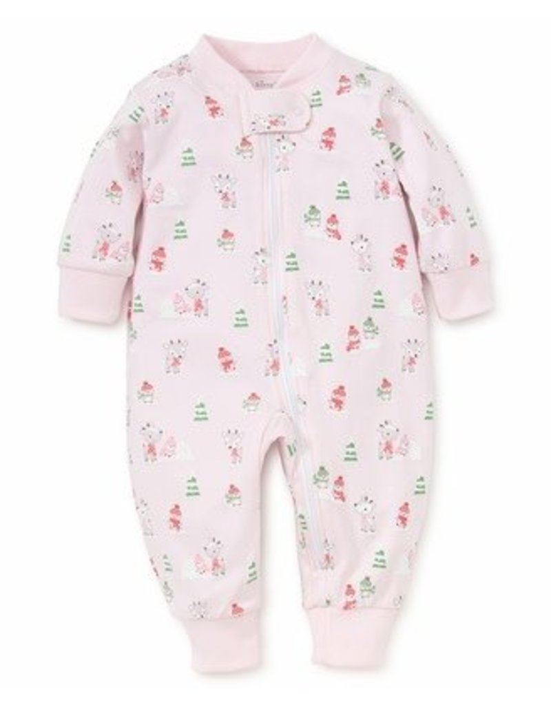 Kissy Kissy Kissy Kissy Snow Day Pajama w/Zipper