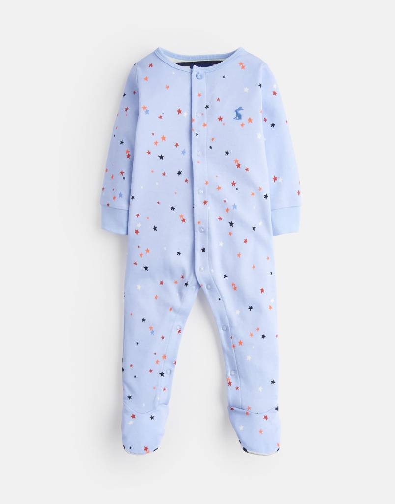 Joules Joules Ziggy Printed Babygrow
