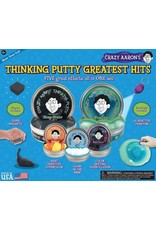 Crazy Aaron's Crazy Aaron's Greatest Hits Thinking Putty Set