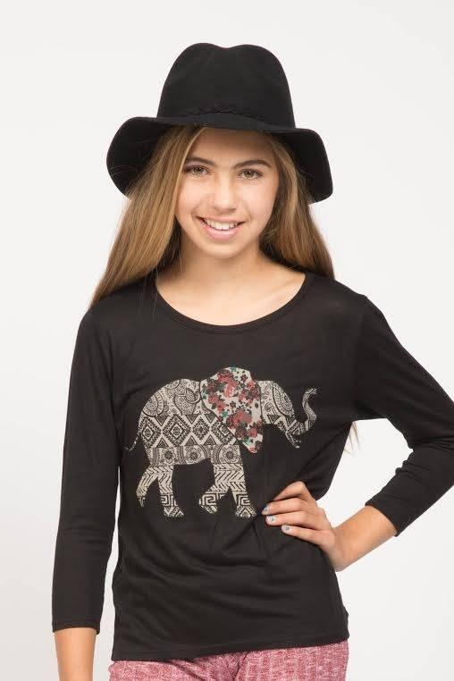 PPLA PPLA Indie Elephant Longsleeve Top