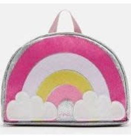 Joules Joules Novelty Backpack-Pink Rainbow