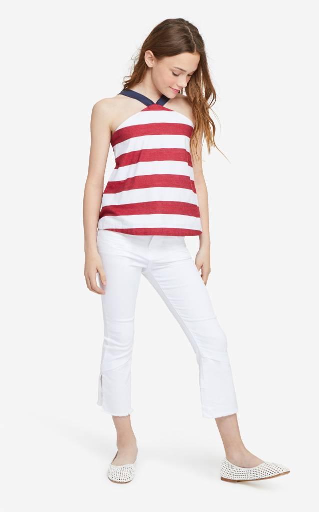 Habitual Girl Habitual Girl Harriet Stripe Baby Doll Top
