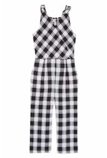 Habitual Girl Habitual Girl Kasie YD Plaid Jumpsuit