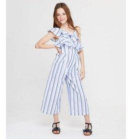 Habitual Girl Habitual Girl Jaxon Stripe Jumpsuit