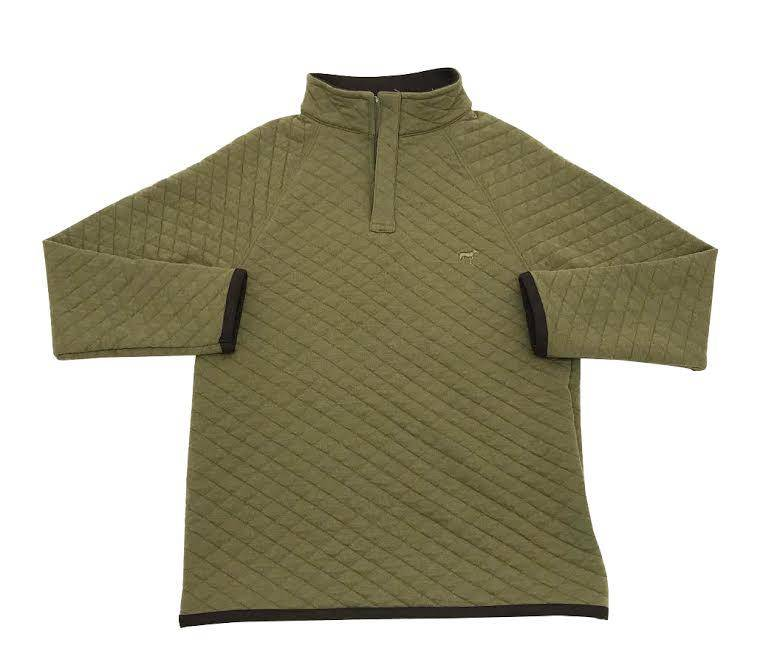 Southern Point Southern Point Quilted Pullover