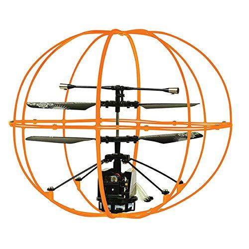 Westminster Westminster Flying Vector Sphere R/C Drone - Orange