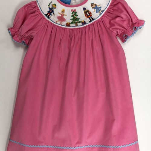 Anavini Anavini Bishop Cord Nutcracker Dress