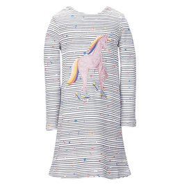 Joules Joules Kay Jersey Applique Dress