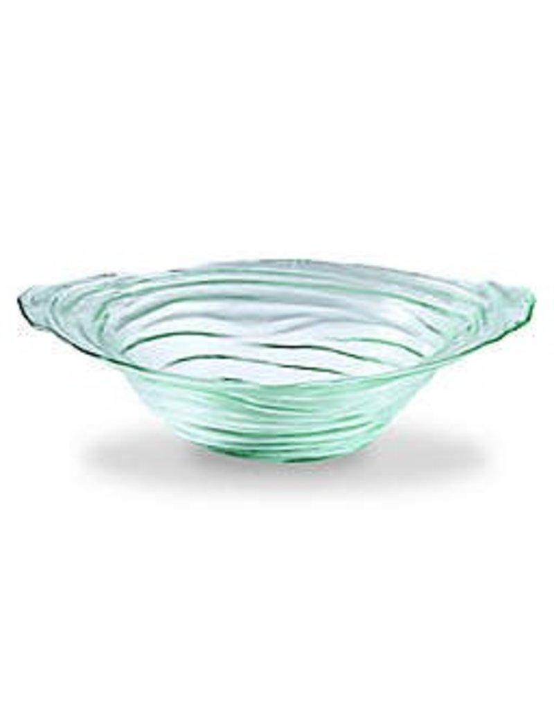 Mud Pie Mud Pie Clear Textured Glass Bowl