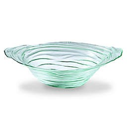 Mud Pie Mud Pie Clear Textured Glass Bowl
