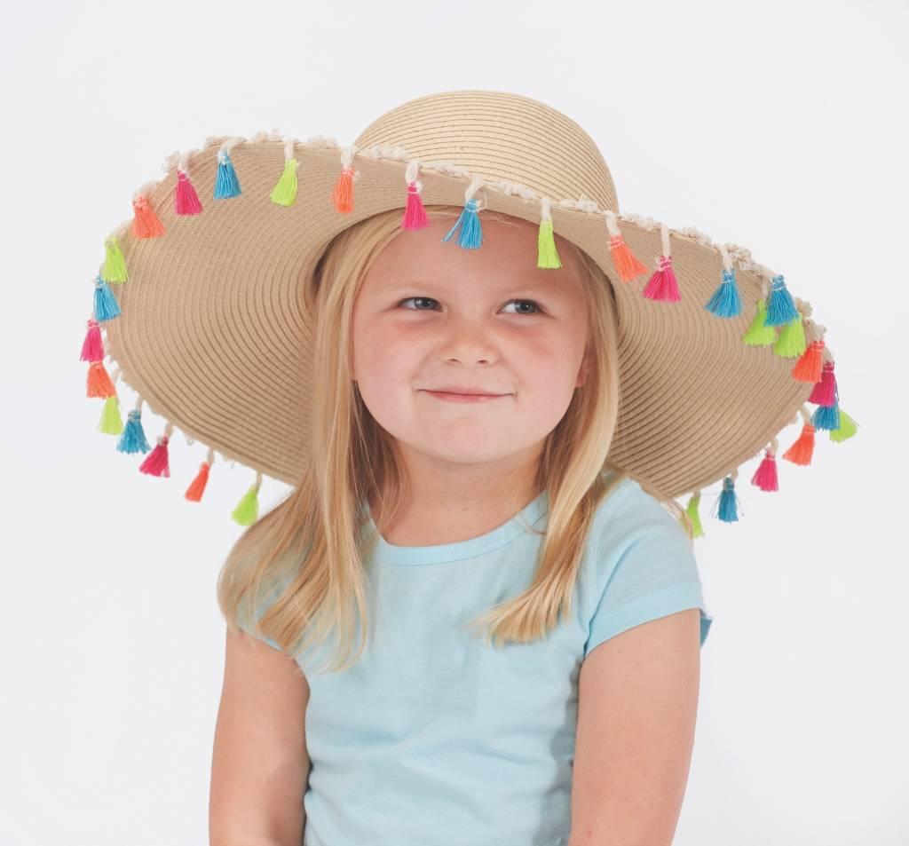 Mud Pie Mud Pie Tassel Sun Hat