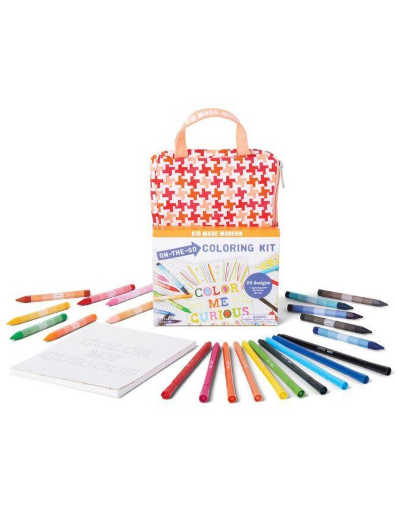 Kid Made Modern Kid Made Modern On the Go Coloring Kit