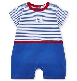 Kissy Kissy Kissy Kissy Whales Short Playsuit