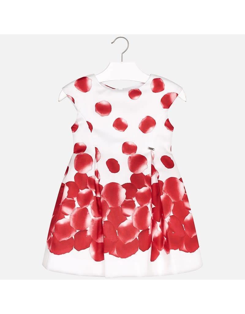 Mayoral Mayoral Petal Print Dress