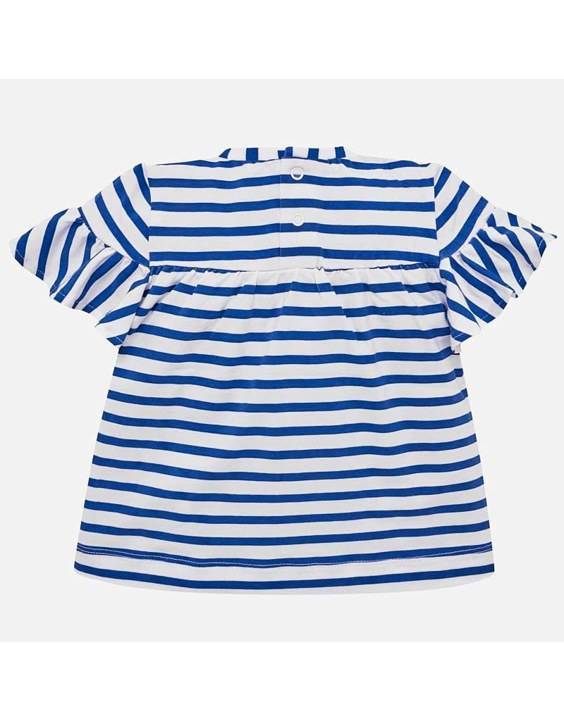 Mayoral Mayoral Striped SS Shirt