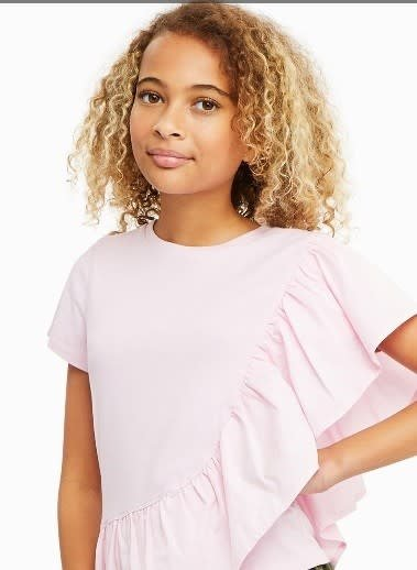 Habitual Girl Habitual Girl Brooklyn Side Ruffle Top